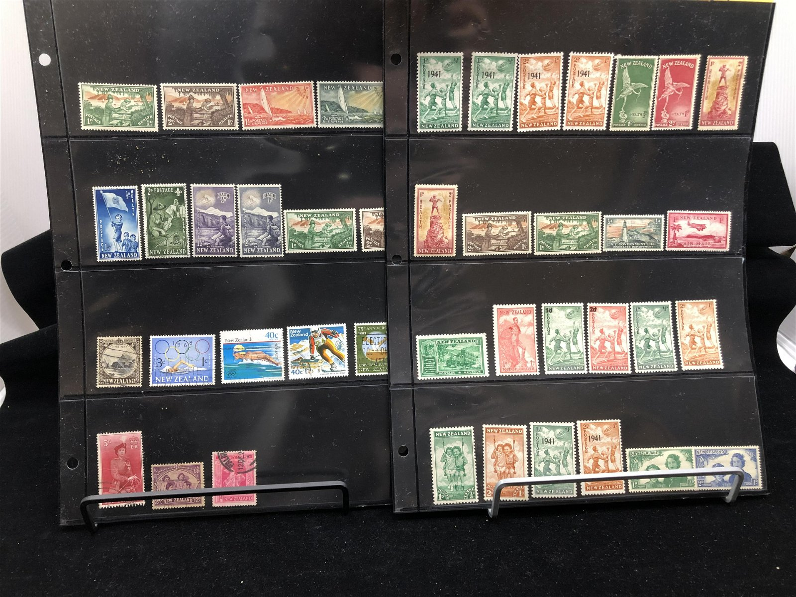 New Zealand Stamp Collection 1