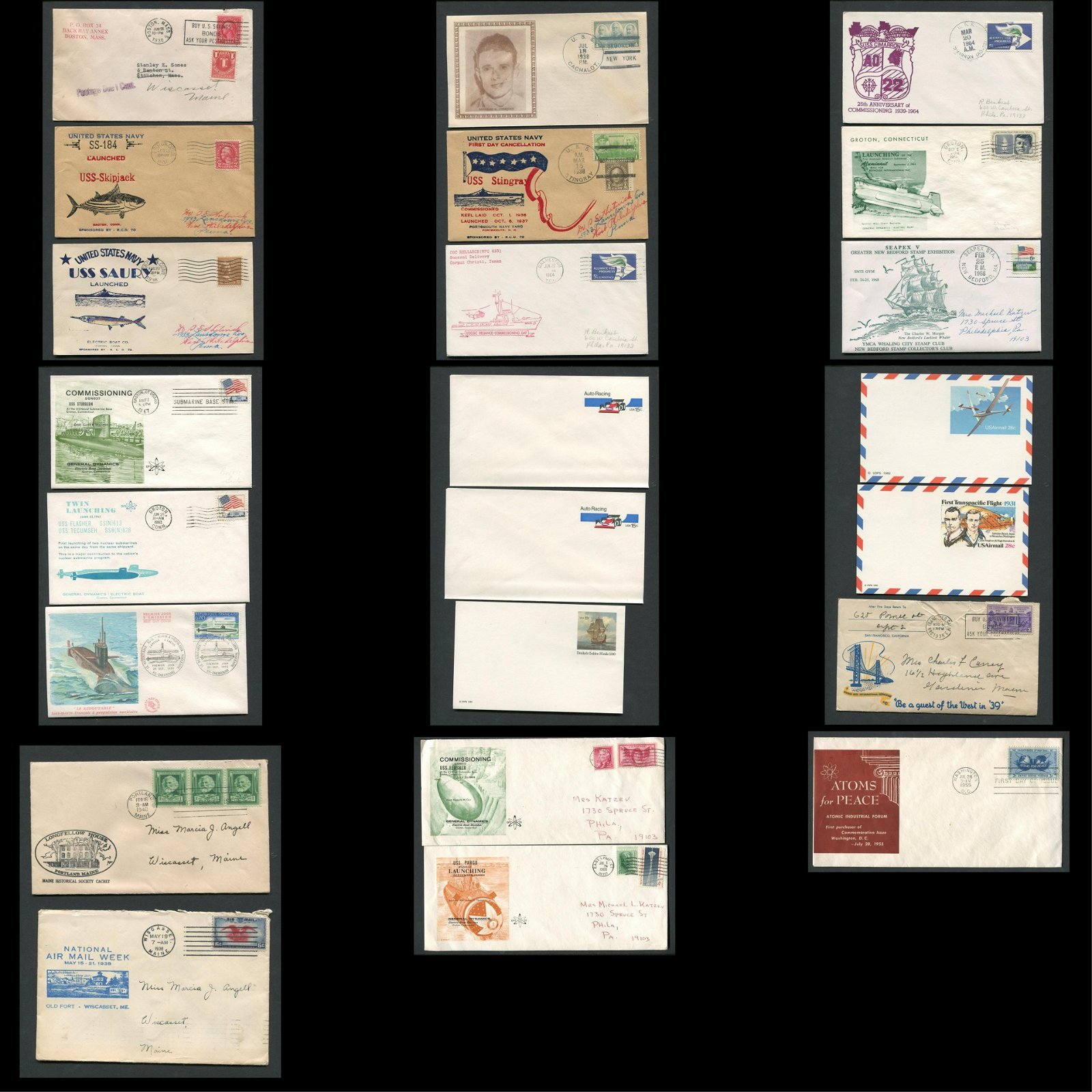 USA Stamp Cover Collection