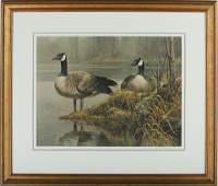 "Robert Bateman's ""Canada Geese Nesting"" LE Print"