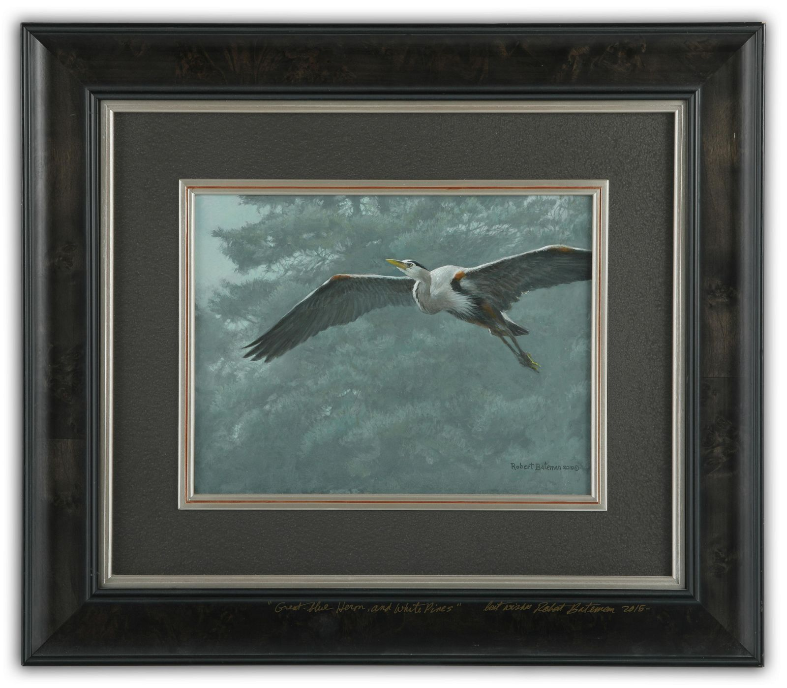 Original Robert Bateman Oil on Board Painting*