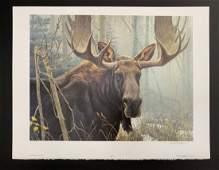 Robert Batemans Bull Moose LE Print