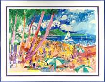Leroy Neimans Diamond Head  Hawaii LE Print
