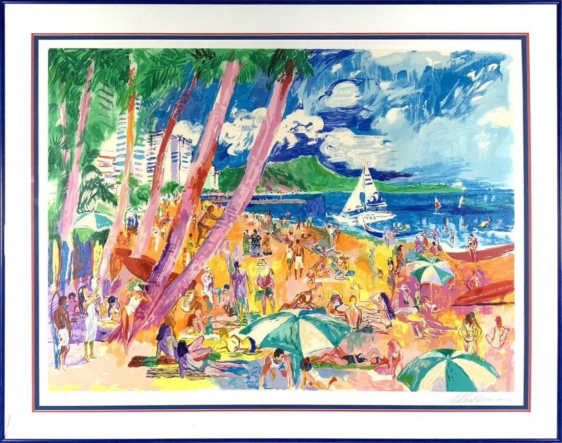"Leroy Neiman's ""Diamond Head - Hawaii"" LE Print*"