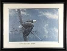 """Robert Bateman's """"The Air, Forest, & the Watch"""""""