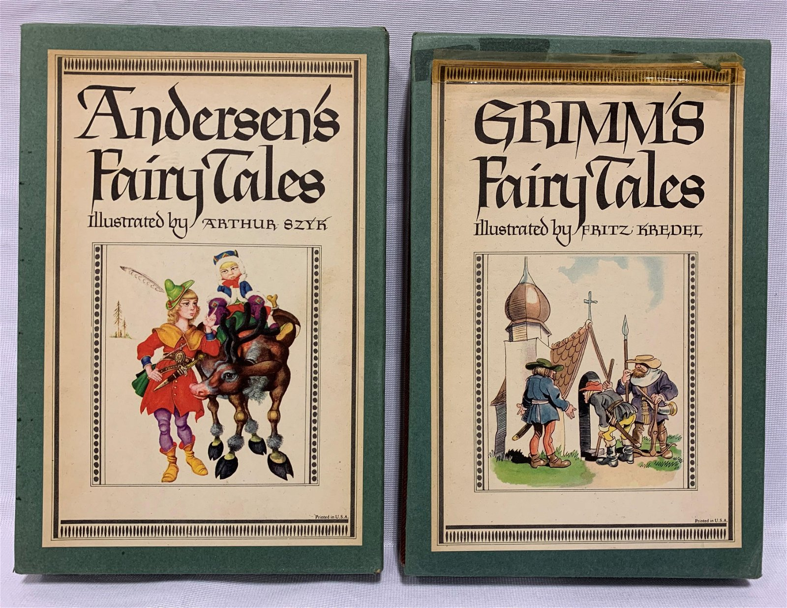 Grimm's and Andersen's Fairy Tales Books