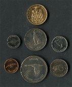 Canada 1967 Specimen Coin Set w/ $20 Gold