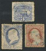 USA Early Postage Stamps