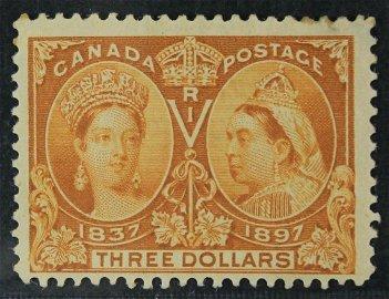 Canada 1897 #63 $3 Jubilee F+