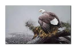 "Robert Bateman's ""Vantage Point- Bald Eagle"" Limited"