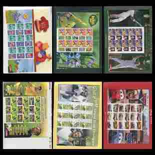 Australia Stamp Collection Souvenir Sheets MNH