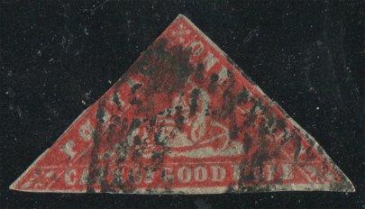 Cape of Good Hope 1861 #7 1p Vermillion UF