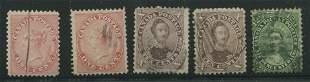 Canada 1859-74 #14/#18 U VG/F