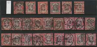 Great Britain 1902 #137 10p Carmine Collection