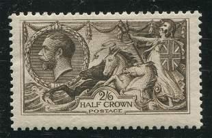 Great Britain 1913 #173 2sh 6p Dark Brown F MNH