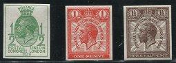 Great Britain 1929 SG #434-436a VF MNH