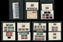 Switzerland Stamp Collection Air Post