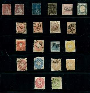Italian States Stamp Collection 1851-1861