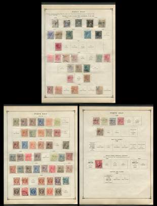 Puerto Rico Stamp Collection 1873-