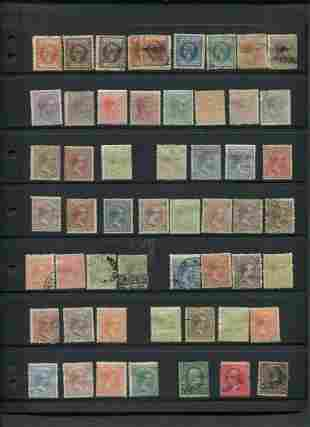 Puerto Rico Stamp Collection 1881-