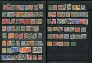 Straits Settlements Stamp Collection 2
