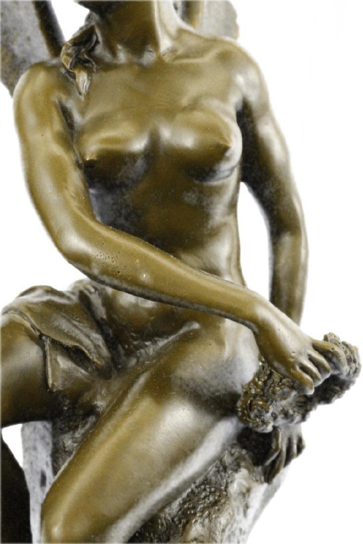 Becquerel Nude Angel Bronze Sculpture - 2