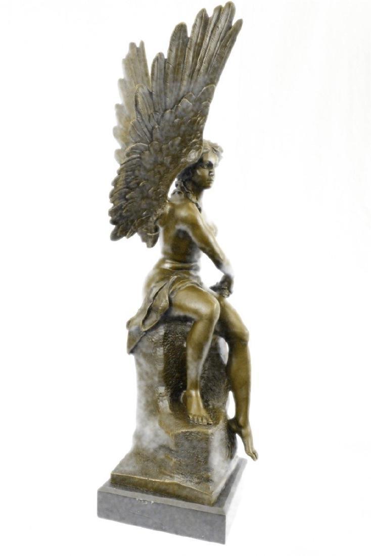 Becquerel Nude Angel Bronze Sculpture - 5