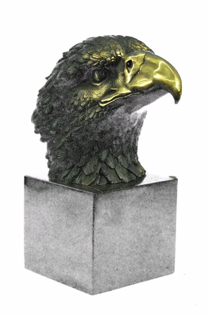 Magnificent American Bald Eagle Bronze Sculpture