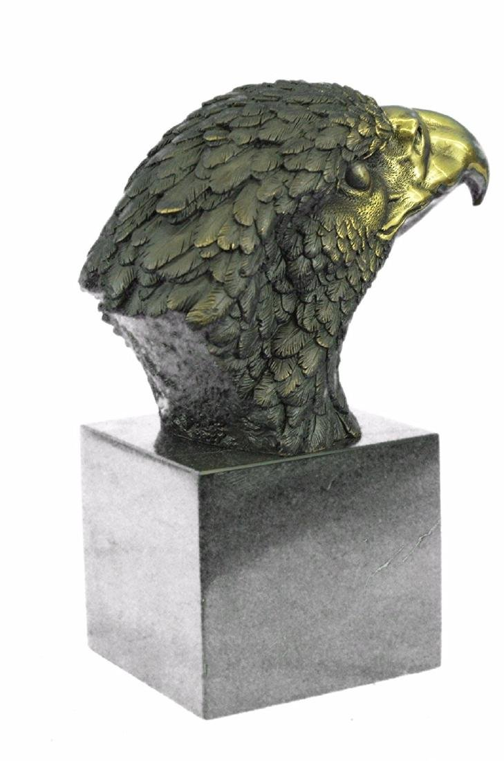 Magnificent American Bald Eagle Bronze Sculpture - 5
