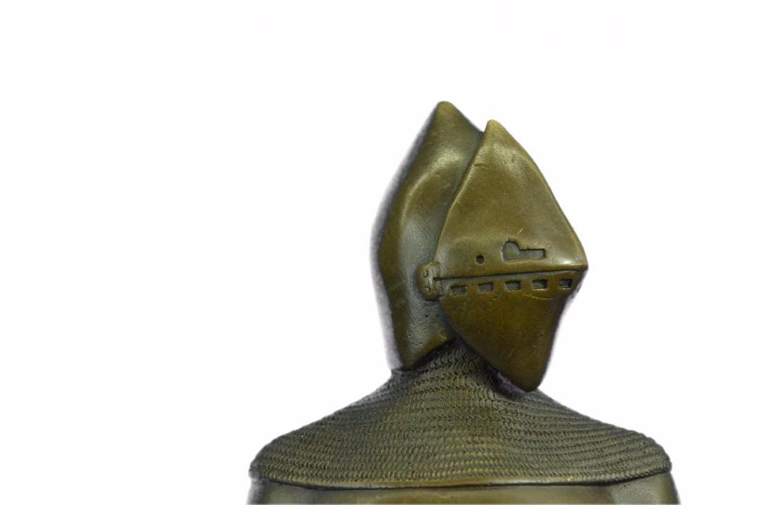 Knight Warrior Bronze Statue - 2