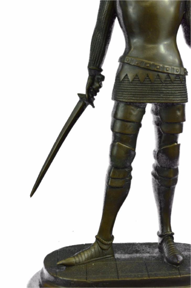 Knight Warrior Bronze Statue - 3