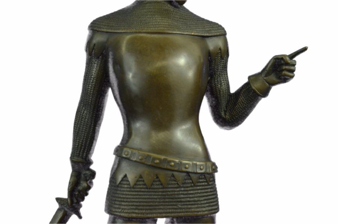 Knight Warrior Bronze Statue - 4