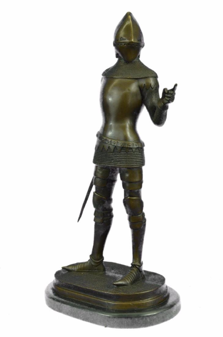 Knight Warrior Bronze Statue - 5