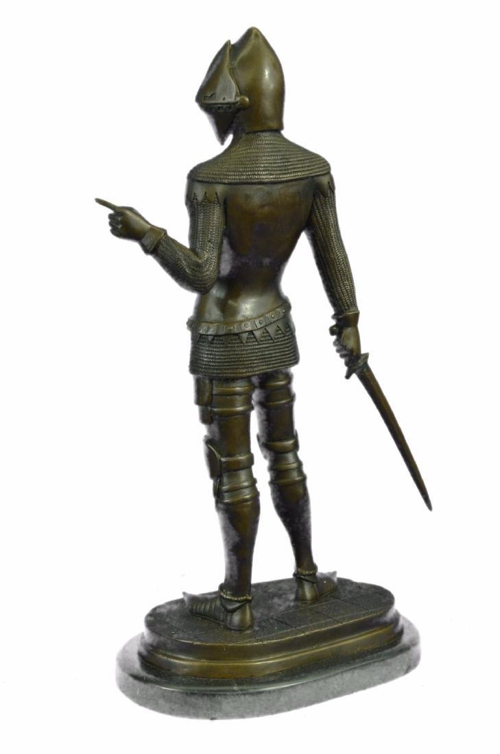 Knight Warrior Bronze Statue - 6