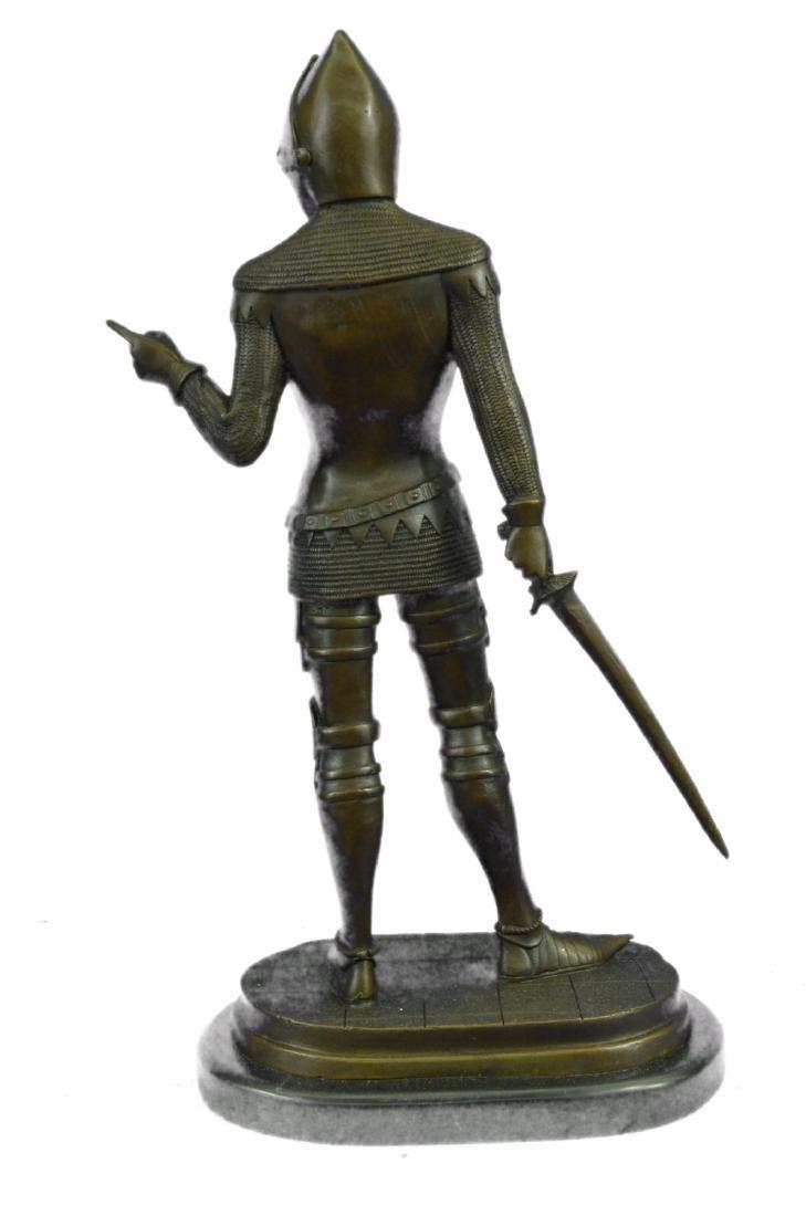 Knight Warrior Bronze Statue - 7