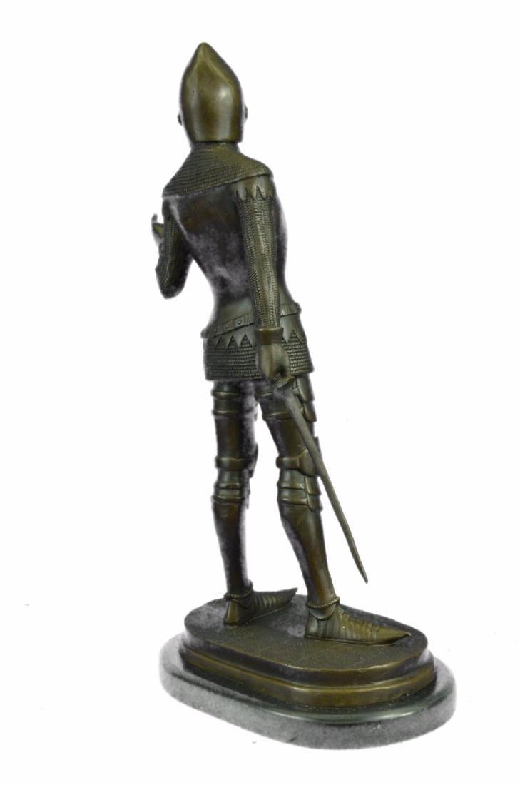 Knight Warrior Bronze Statue - 8