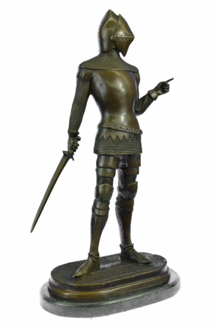 Knight Warrior Bronze Statue - 9