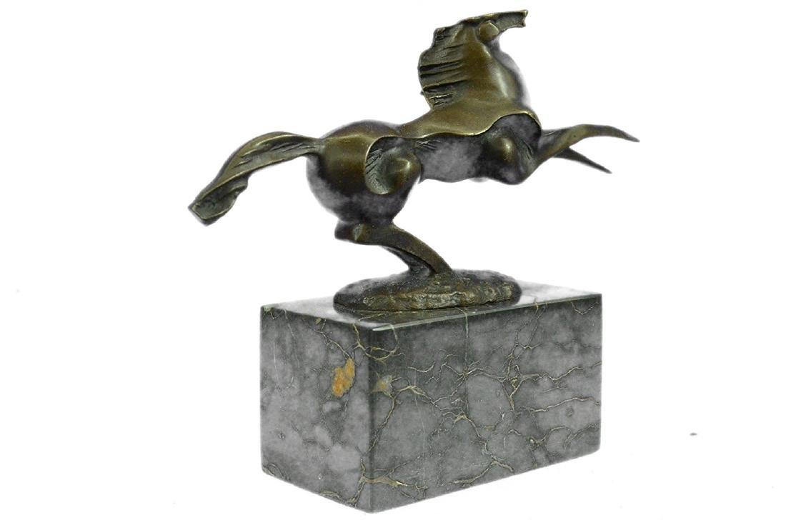 Horse Stallion Bronze Sculpture - 9