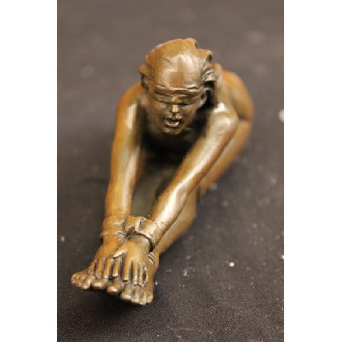 Erotic Nude Art Bronze Sculpture - 2