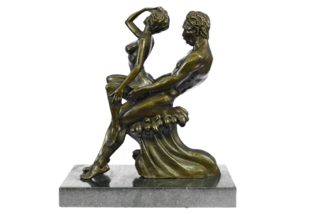 Couple Making Love Bronze Sculpture - 7