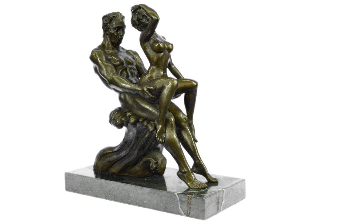 Couple Making Love Bronze Sculpture - 9