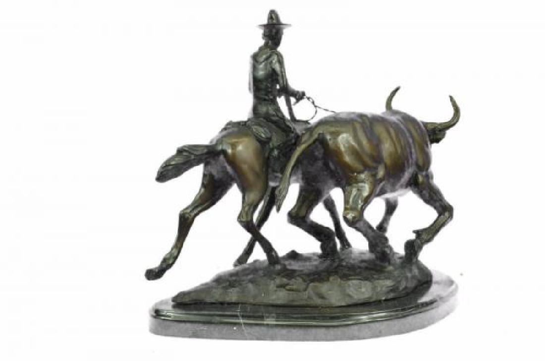 Bolter Western Bronze Sculpture - 4