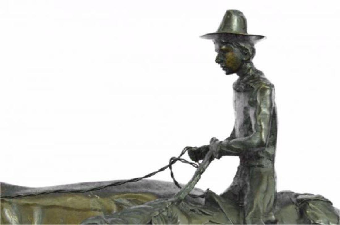 Bolter Western Bronze Sculpture - 6