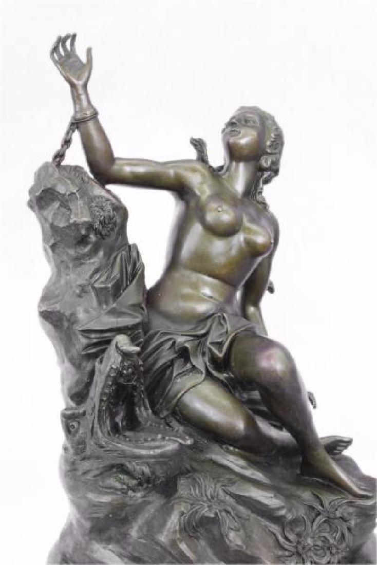 Nude Nymph Bronze Sculpture