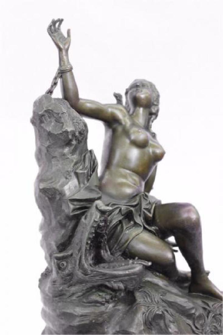 Nude Nymph Bronze Sculpture - 7