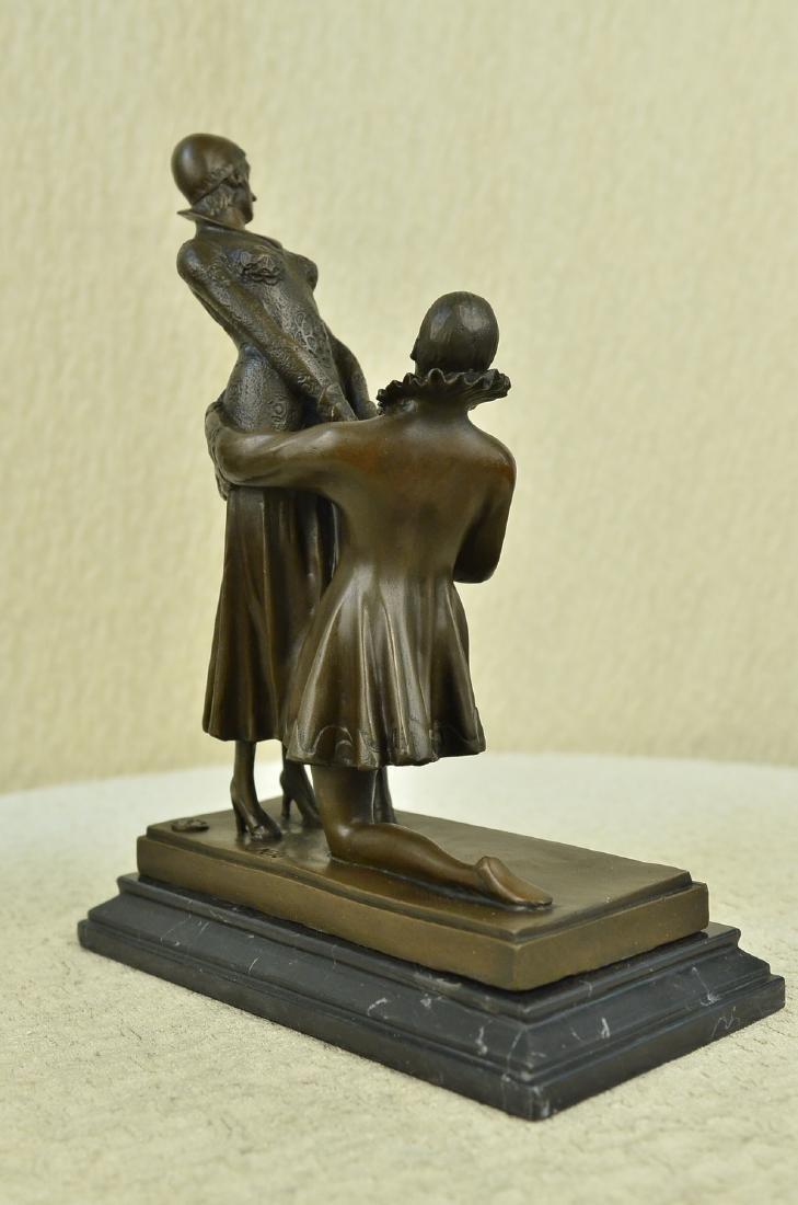 Declaration of Love Bronze Sculptur - 7