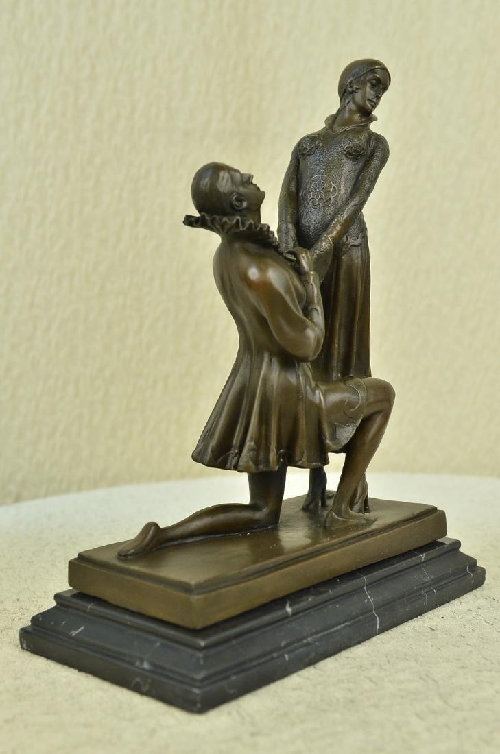 Declaration of Love Bronze Sculptur - 8
