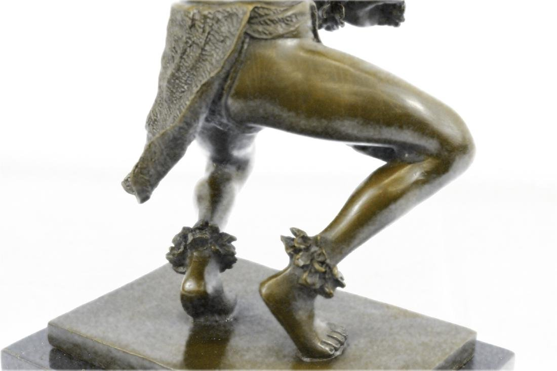 Classical Hawaiian Dancer Bronze Sculpture - 3