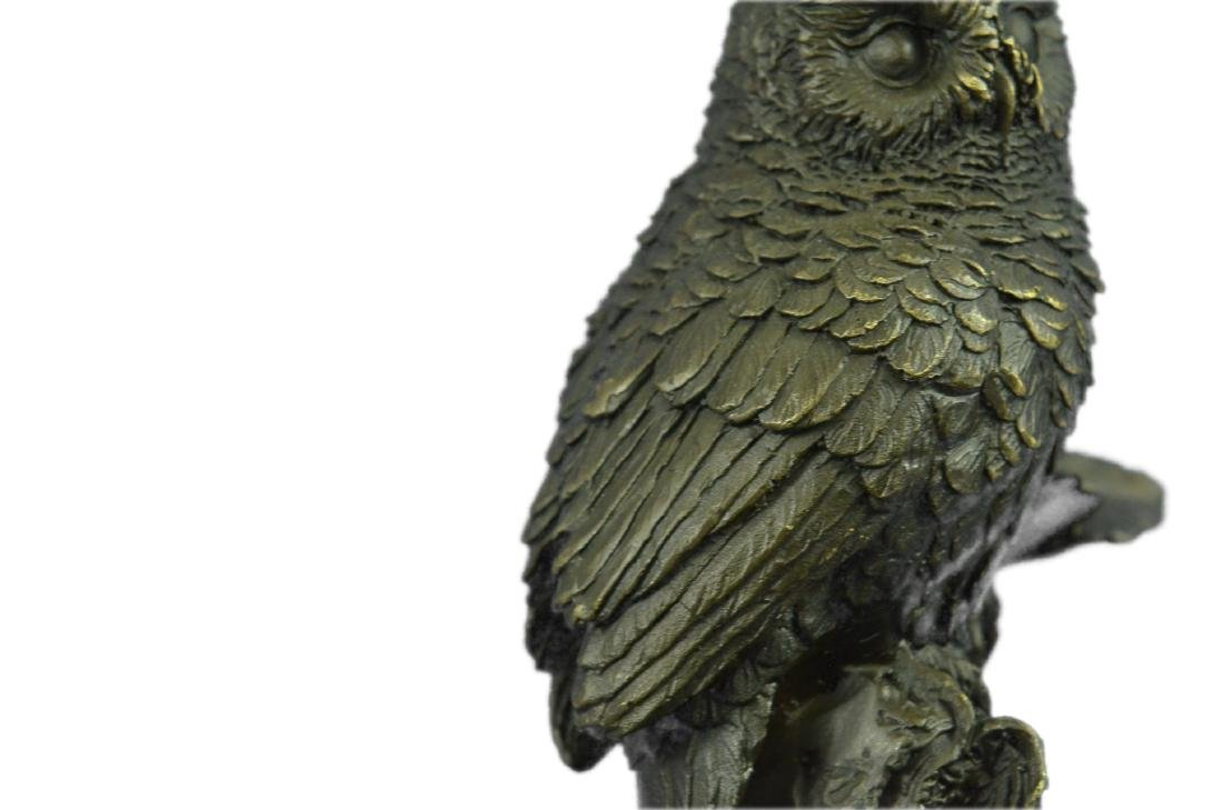 Vienna Bronze Bird Owl Book End Bookend Bronze - 4
