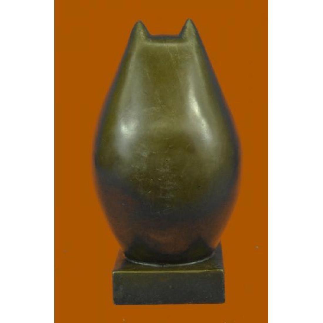 Modern Art Bronze- Fat Cat, Signed Milo a tribute to - 3