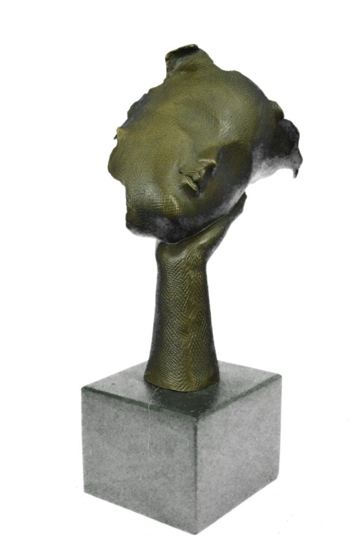 Handcrafted Female Version Salvador Dali Bronze - 5